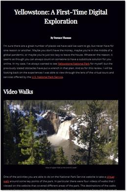 Terence Thomas' virtual review of Yellowstone