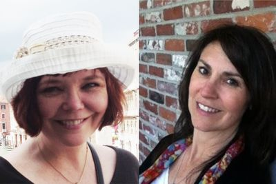 Stacey Purviance and Michelle Clark