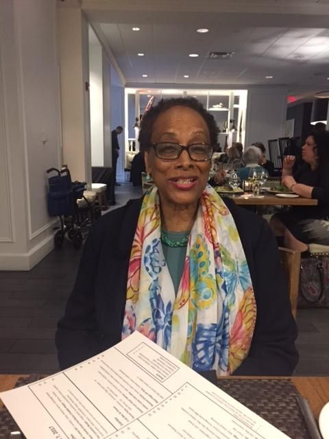 Shirley Logan at Women, Rhetoric, and Writing conference at University of Maryland