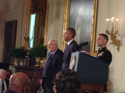 On May 19, 2016, President Obama presented Dr. Bandura with the National Medal of Science
