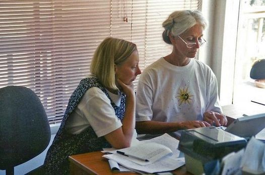 Andrea-Lunsford-and-Lisa-Ede-writing-together.jpg