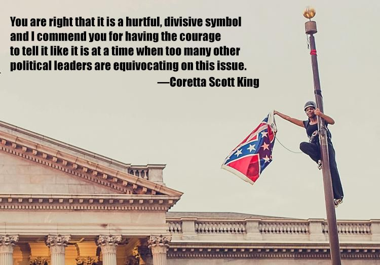 On the Confederate Flag